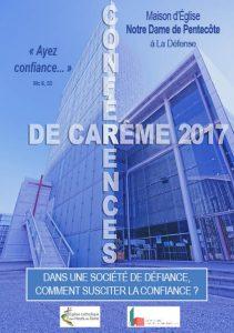 Tract conférences de carême 2017