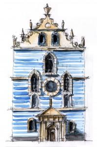 Eglise franciscaine Vienne 27.07.11 M